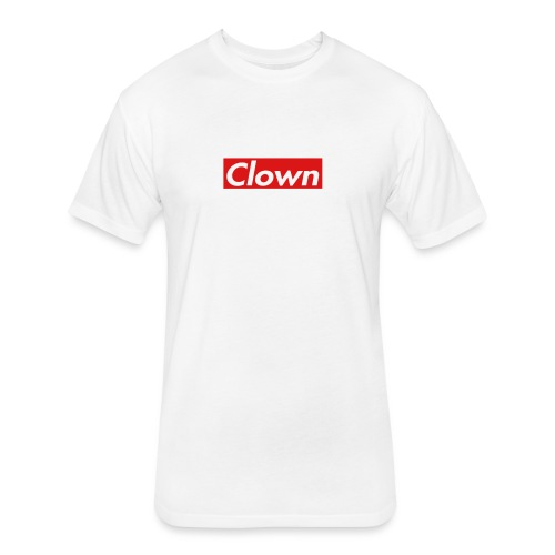halifax clown sup - Fitted Cotton/Poly T-Shirt by Next Level