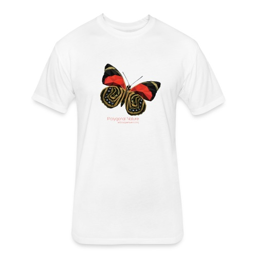 polygon butterfly EBN - Fitted Cotton/Poly T-Shirt by Next Level