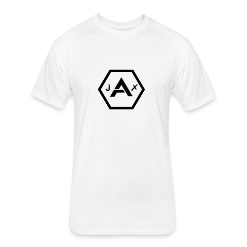 TSG JaX logo - Fitted Cotton/Poly T-Shirt by Next Level