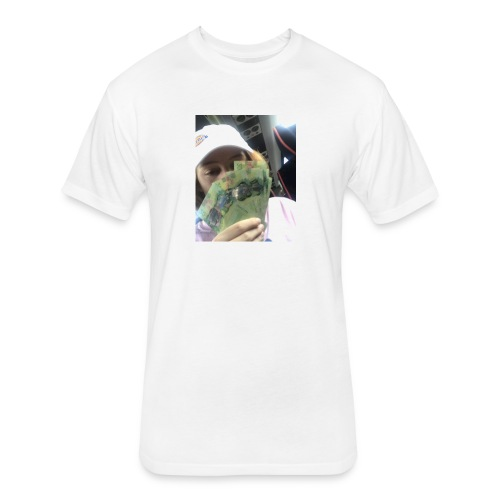 lettucejuuice money - Fitted Cotton/Poly T-Shirt by Next Level