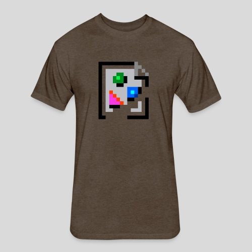 Broken Graphic / Missing image icon Mug - Fitted Cotton/Poly T-Shirt by Next Level