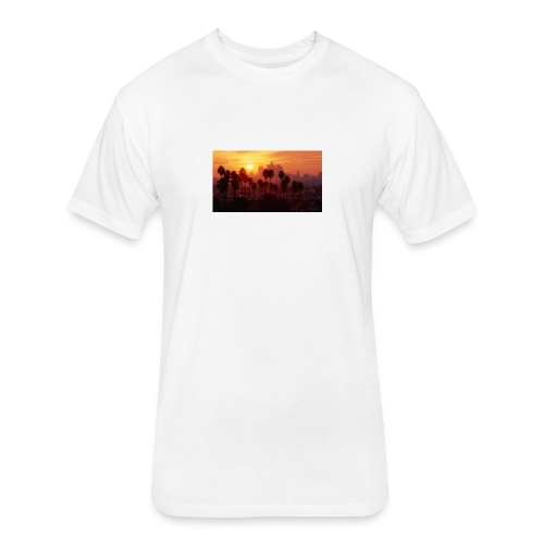 D1F723D6 BE35 4A05 9FC0 19FB49ED54F9 - Fitted Cotton/Poly T-Shirt by Next Level