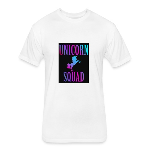 Unicorn Squad collection - Fitted Cotton/Poly T-Shirt by Next Level