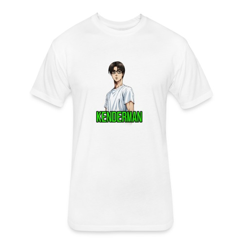 Kenderman manga style merch - Fitted Cotton/Poly T-Shirt by Next Level