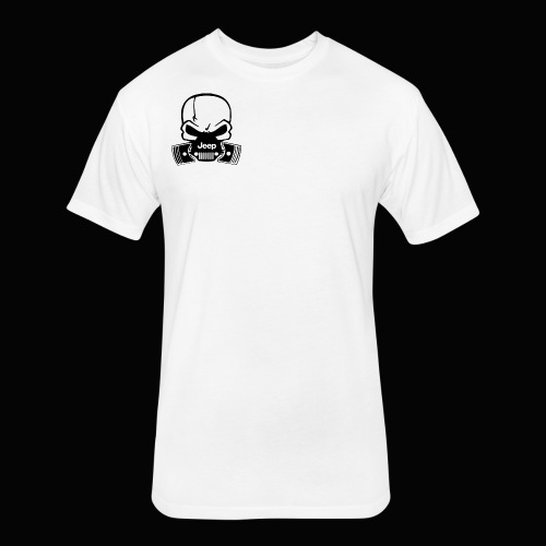 jeep - Fitted Cotton/Poly T-Shirt by Next Level