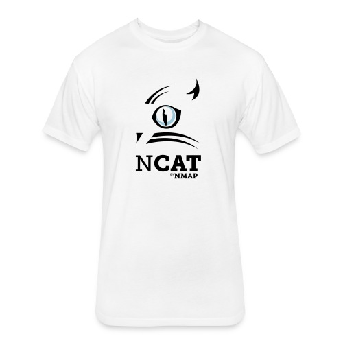 nmap ncat - Fitted Cotton/Poly T-Shirt by Next Level