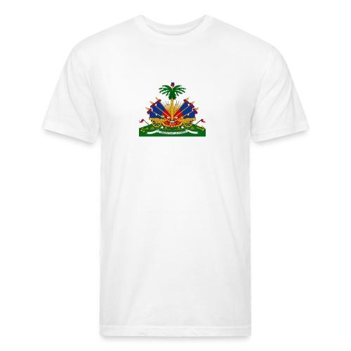 Armes de la république - Fitted Cotton/Poly T-Shirt by Next Level