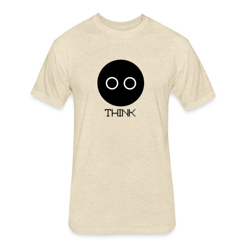 Design - Fitted Cotton/Poly T-Shirt by Next Level