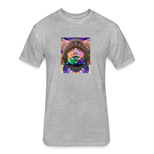 ruth bear - Fitted Cotton/Poly T-Shirt by Next Level