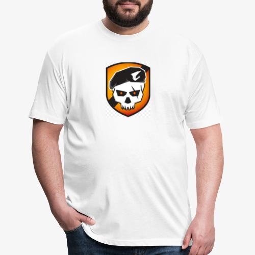 call of duty devil - Fitted Cotton/Poly T-Shirt by Next Level