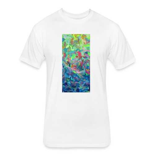 Day to Night - Fitted Cotton/Poly T-Shirt by Next Level