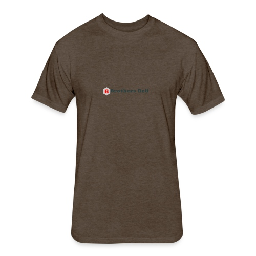 6 Brothers Deli - Fitted Cotton/Poly T-Shirt by Next Level