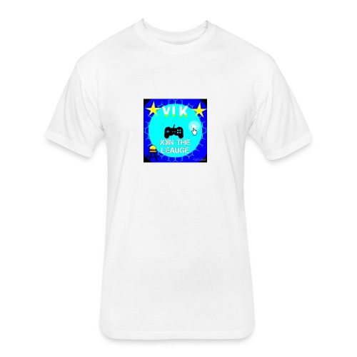 MInerVik Merch - Fitted Cotton/Poly T-Shirt by Next Level