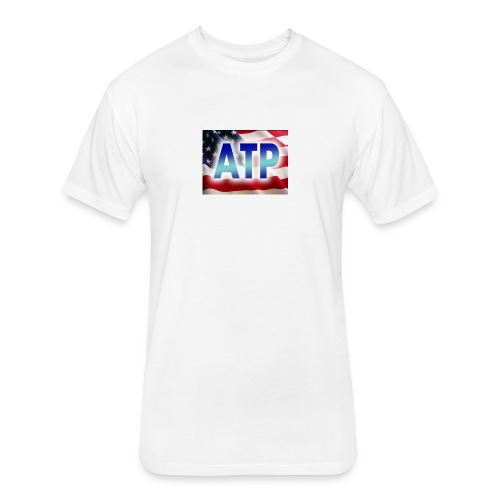 ATPFlagTee - Fitted Cotton/Poly T-Shirt by Next Level