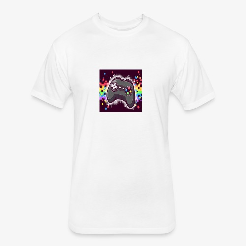 28F77488 9266 4EFE 87D5 7ECC3A08E5E2 - Fitted Cotton/Poly T-Shirt by Next Level