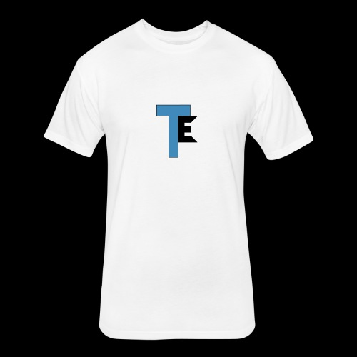 The Second Team Exelfiny Logo - Fitted Cotton/Poly T-Shirt by Next Level
