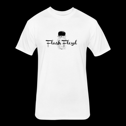 Flash Floyd 001 - Fitted Cotton/Poly T-Shirt by Next Level