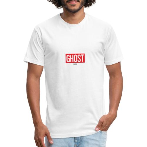 Ghost Music Logo - Fitted Cotton/Poly T-Shirt by Next Level