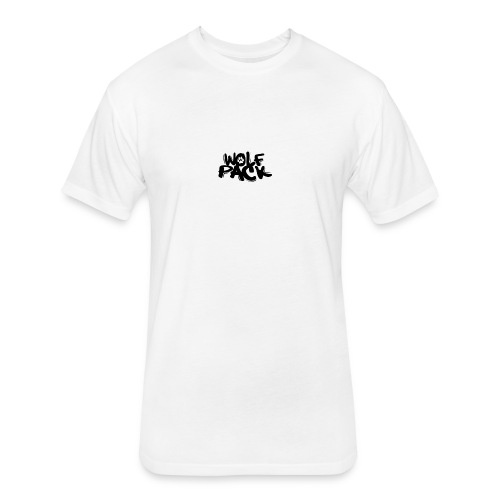 Krazy Hounds Wolfpack Paw Logo - Fitted Cotton/Poly T-Shirt by Next Level