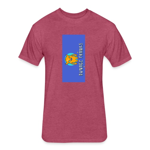 logo iphone5 - Fitted Cotton/Poly T-Shirt by Next Level