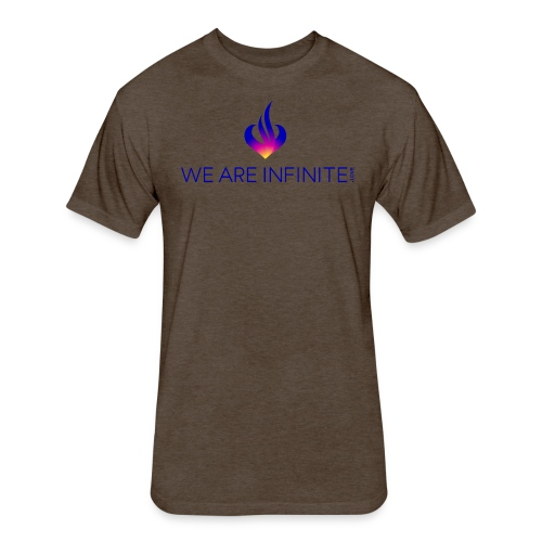 We Are Infinite - Fitted Cotton/Poly T-Shirt by Next Level