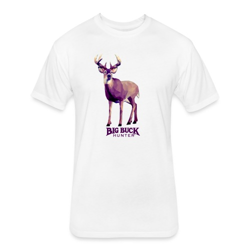 Polygondeer - Fitted Cotton/Poly T-Shirt by Next Level