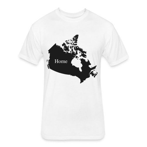 Canada Home - Fitted Cotton/Poly T-Shirt by Next Level