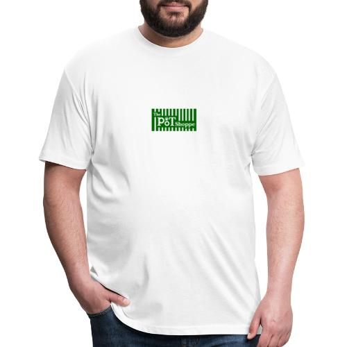 The Pot Shoppe Logo - Fitted Cotton/Poly T-Shirt by Next Level