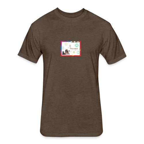 animals - Fitted Cotton/Poly T-Shirt by Next Level