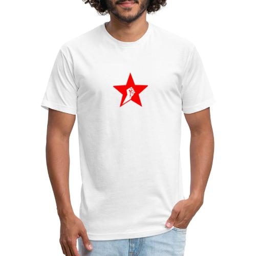 Solidarity Fist - Fitted Cotton/Poly T-Shirt by Next Level