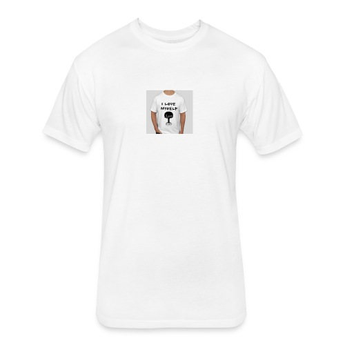 love myself - Fitted Cotton/Poly T-Shirt by Next Level