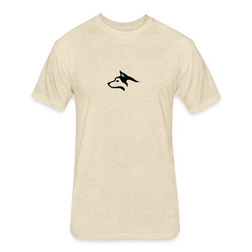 Quebec - Fitted Cotton/Poly T-Shirt by Next Level
