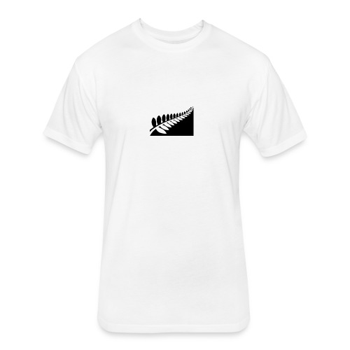 New Zealand flag design proposal dezeen 468 3 - Fitted Cotton/Poly T-Shirt by Next Level
