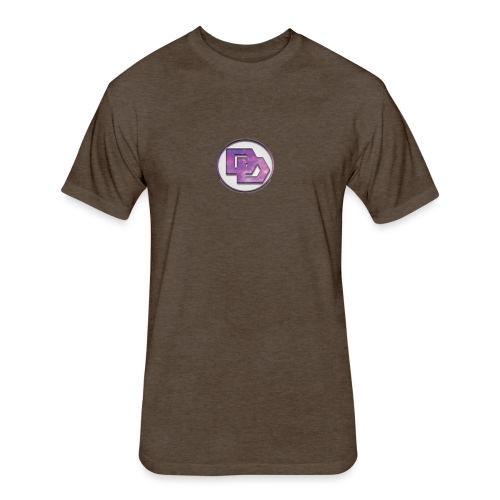 DerpDagg Logo - Fitted Cotton/Poly T-Shirt by Next Level