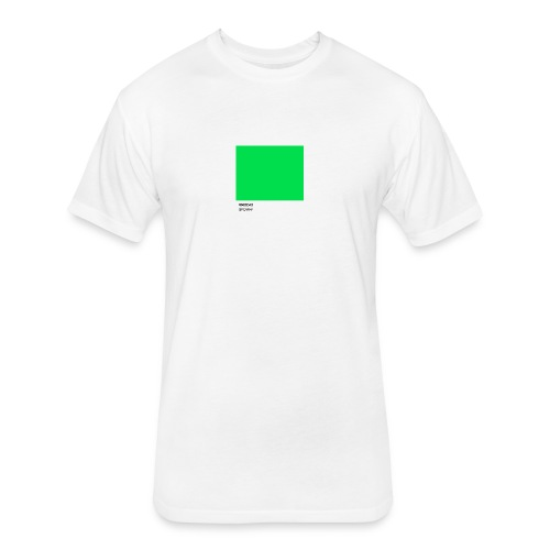 spotify - Fitted Cotton/Poly T-Shirt by Next Level