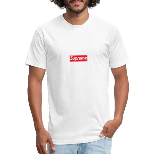 Supreme - Fitted Cotton/Poly T-Shirt by Next Level