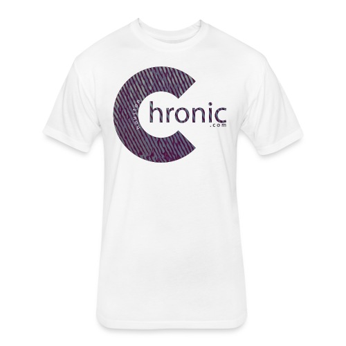Houston Chronic - Classic C - Fitted Cotton/Poly T-Shirt by Next Level
