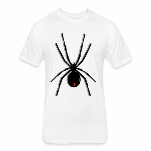 Black Widow - Fitted Cotton/Poly T-Shirt by Next Level