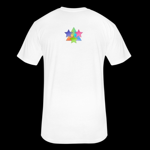 80sworkout - Fitted Cotton/Poly T-Shirt by Next Level