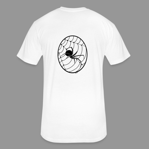 Widows Web - Fitted Cotton/Poly T-Shirt by Next Level