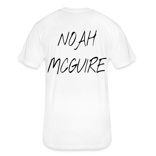 Noah McGuire Merch - Fitted Cotton/Poly T-Shirt by Next Level