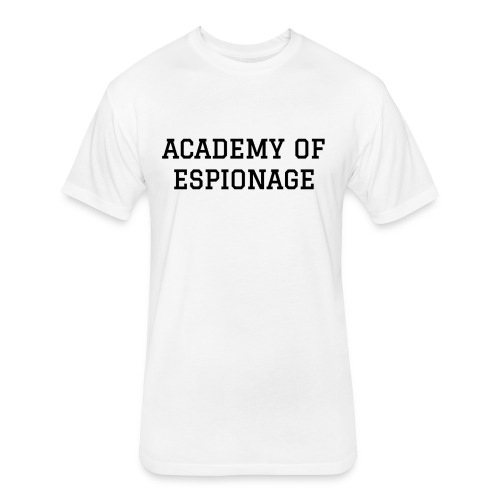 Academy of Espionage - Fitted Cotton/Poly T-Shirt by Next Level