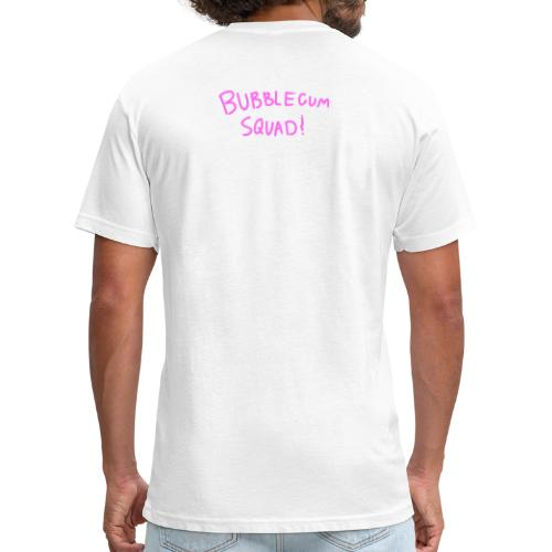 Bubblegum Squad - Fitted Cotton/Poly T-Shirt by Next Level