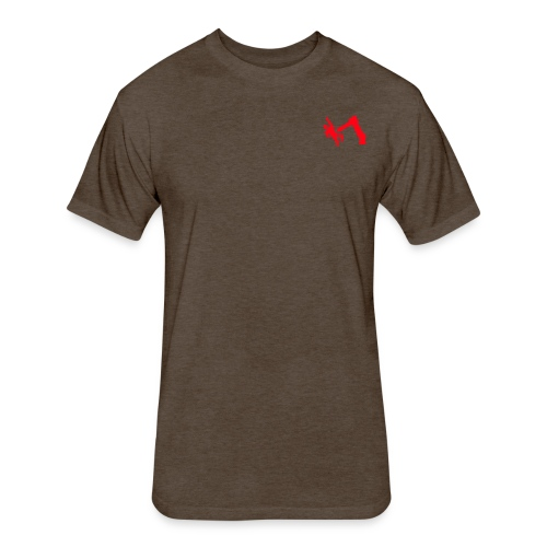 Robot Wins - Fitted Cotton/Poly T-Shirt by Next Level