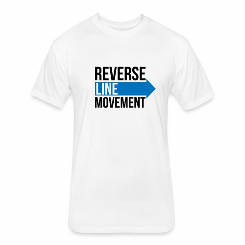 Reverse Line Movement - Fitted Cotton/Poly T-Shirt by Next Level