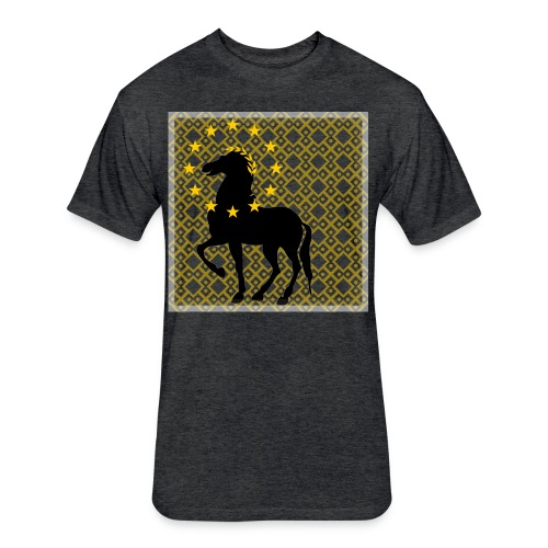 Roman Horse - Fitted Cotton/Poly T-Shirt by Next Level
