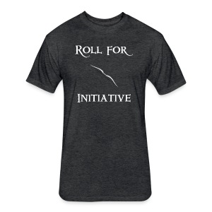 Roll For Initiative - Bow - Fitted Cotton/Poly T-Shirt by Next Level