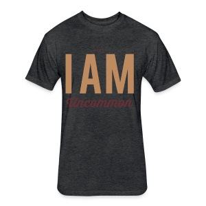 I Am Uncommon - Fitted Cotton/Poly T-Shirt by Next Level