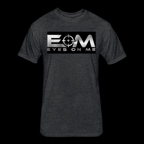 Eyes On Me Fitness - Fitted Cotton/Poly T-Shirt by Next Level