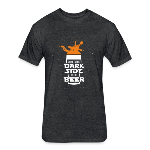 Beer, star wars, Cup - Fitted Cotton/Poly T-Shirt by Next Level